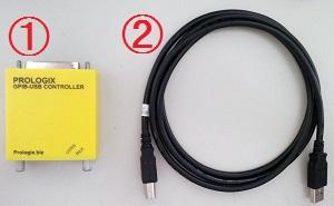 USB-GPIB変換アダプタ
